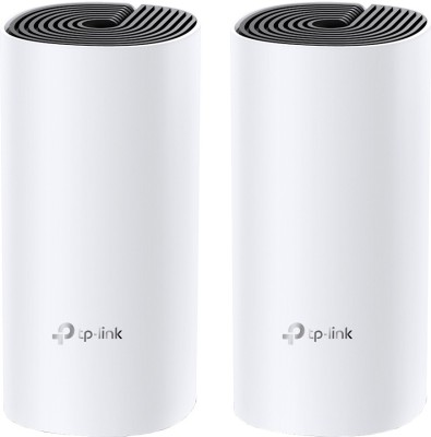 TP-Link Deco M4 (2-Pack) 1200 Mbps Mesh Router(White, Dual Band)